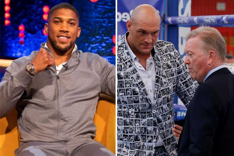 Tyson Fury won't sign Anthony Joshua site deal until money is guaranteed by a bank, claims Frank Warren