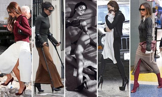 Victoria Beckham's shoes are always the height of fashion