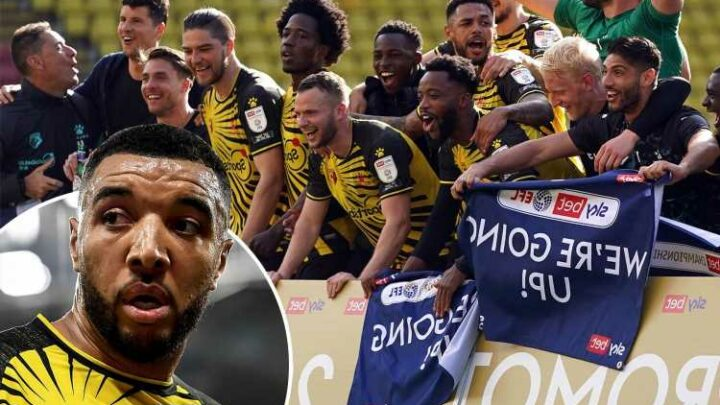 Watford are back to the Premier League and so will I be – I'm using all the negative talk and smirking as motivation