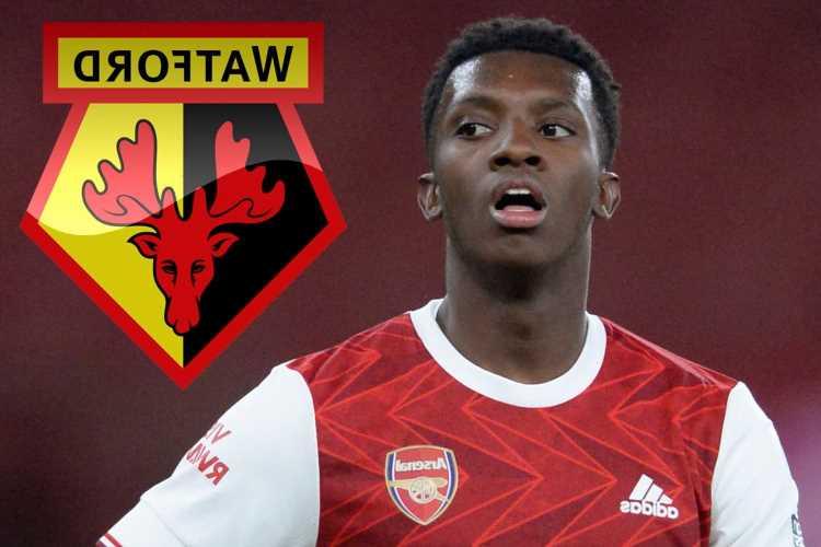 Watford want Eddie Nketiah for Premier League return with Arsenal set to demand £15m transfer fee for striker