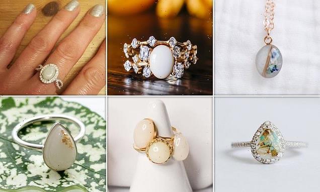 Would YOU wear a breast milk ring? Unorthodox jewellery sales soar