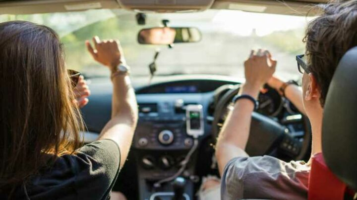 You can be fined HUNDREDS for blaring loud music from your car while driving
