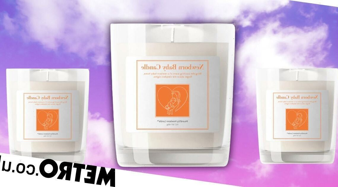 You can now buy a candle that 'smells like a newborn baby'