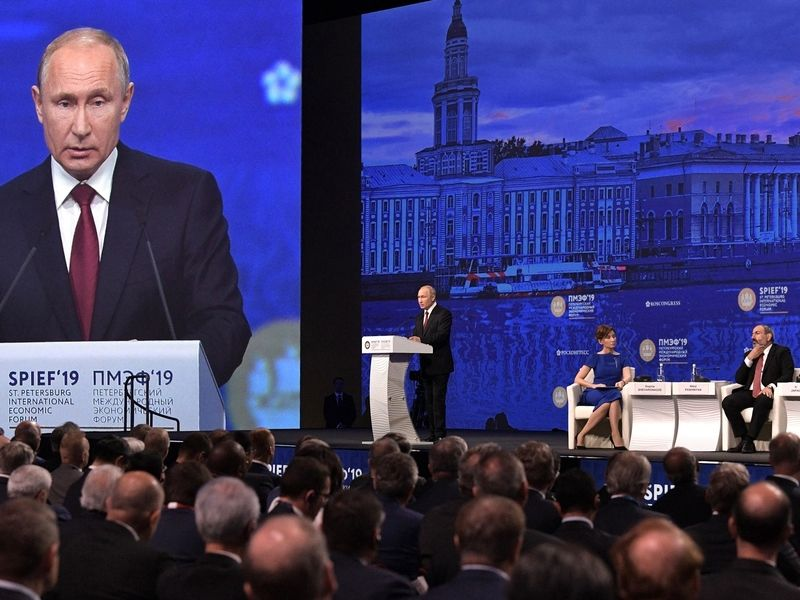 SPIEF 2021 in live format to give new impetus to business ties development amid pandemic