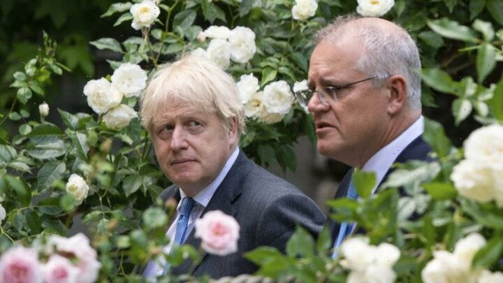 'Impressed with Australia's ambition': Johnson offers Morrison support on climate change