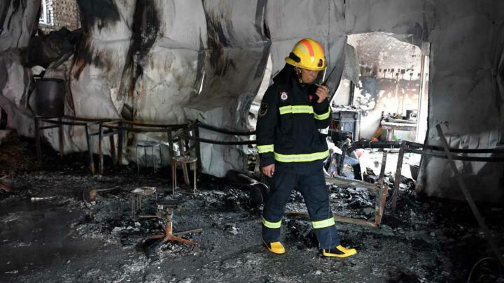 18 children dead after fire at Chinese martial arts school