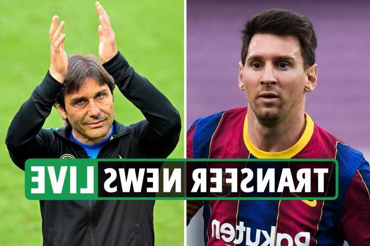 Antonio Conte to Tottenham 'DONE DEAL', Messi new Barcelona deal 'agreed', Zaha 'hands in transfer request'
