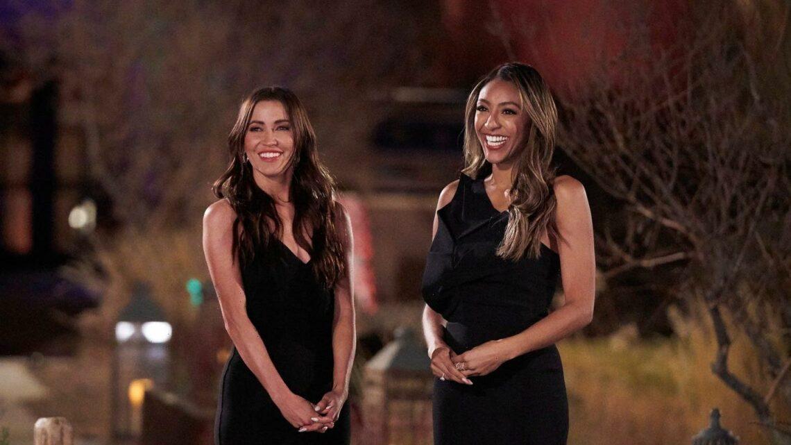 'Bachelorette' co-hosts Tayshia Adams, Kaitlyn Bristowe on 'father figure' Chris Harrison's exit