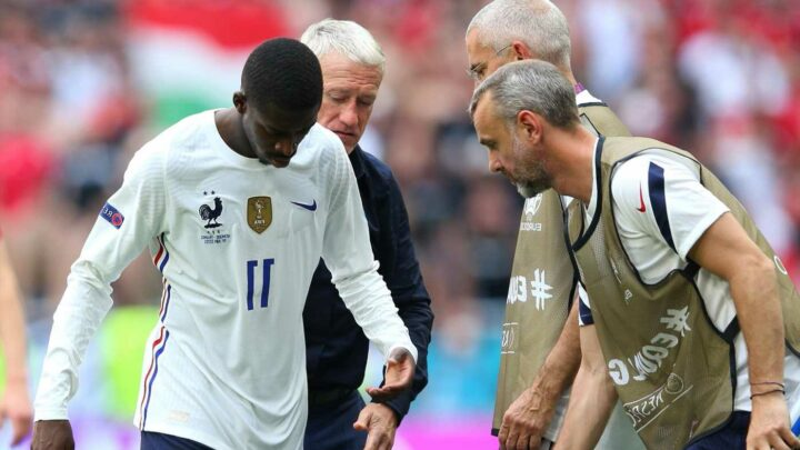 Barcelona set to be compensated £2.5m by Fifa for Ousmane Dembele's injury while on Euro 2020 duty with France