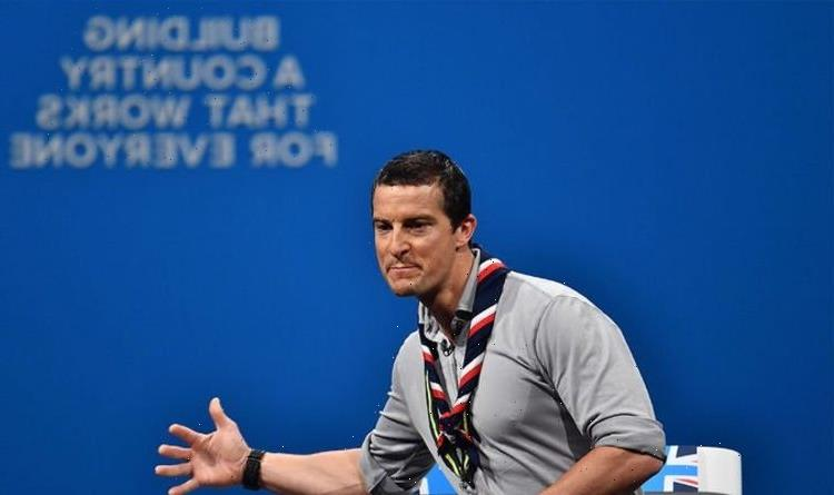 Bear Grylls' furious backlash from Lefties after he attended Tory party conference