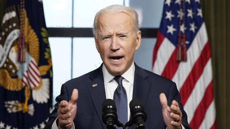 Biden launches vaccine blitz in bid to 'declare independence' from COVID-19