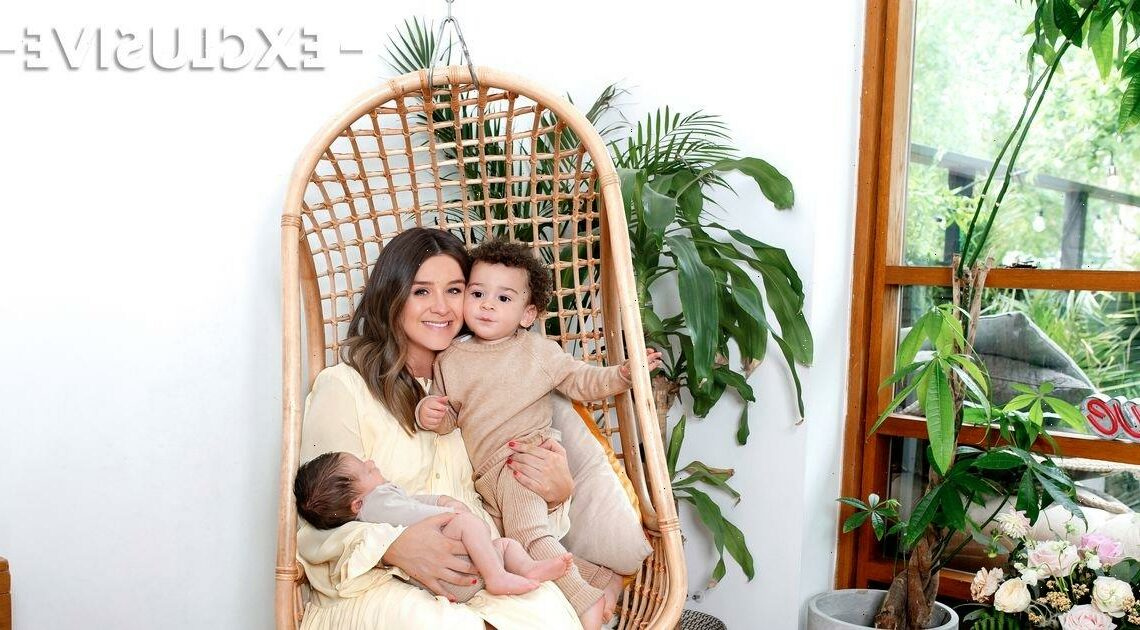 Brooke Vincent breaks down as she recalls son Mexx comforting her before Monroe's arrival