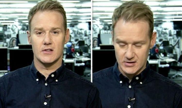 Dan Walker's parting post amid 'sad times' as BBC host bids farewell to 'legend' colleague