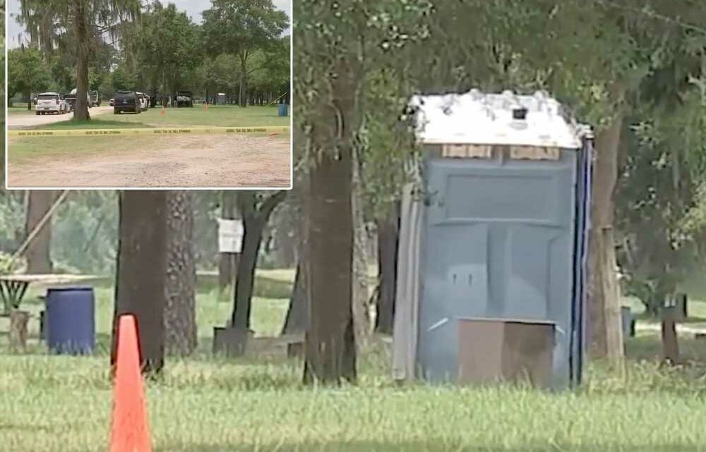 Dead newborn found by workers emptying port-a-potty in Texas