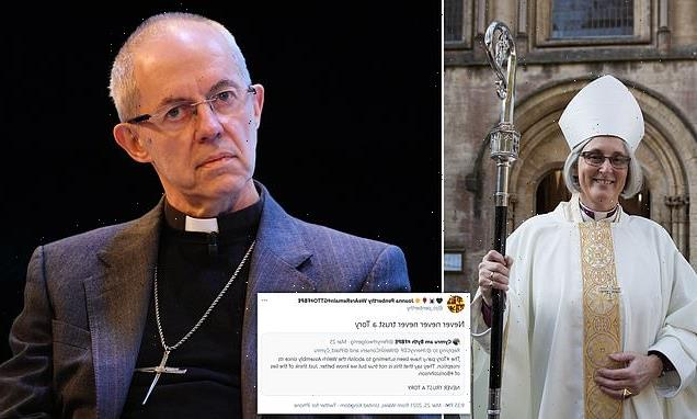 'Deeply embarrassed' Archbishop of Canterbury apologises for bishop