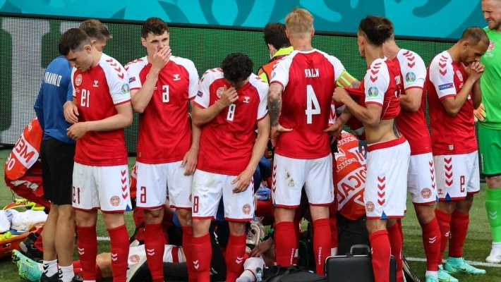 Denmark players upset at decision to resume match after Christian Eriksen collapse