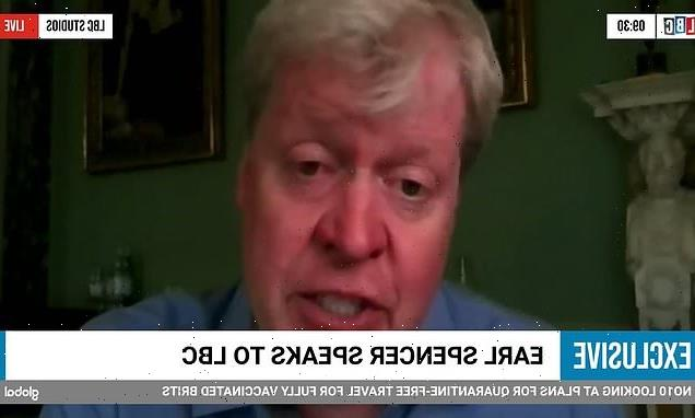 Earl Spencer says he has reported Martin Bashir to Met Police TWICE