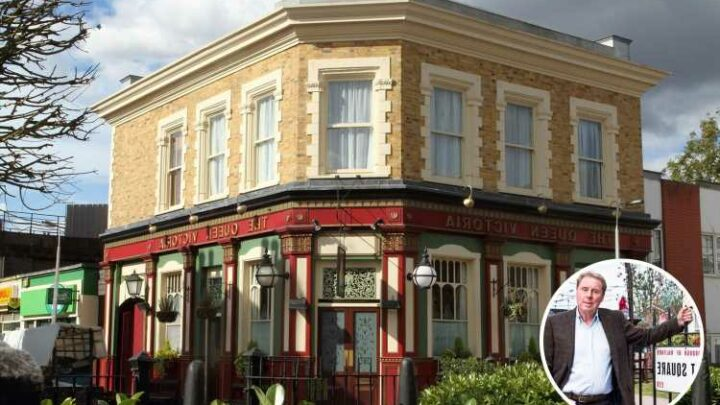 EastEnders spoilers: serious fire storyline 'revealed' as smoke seen billowing from Albert Square set