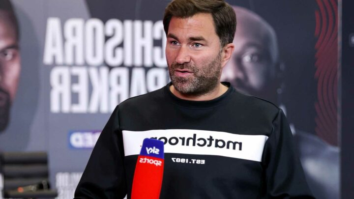 Eddie Hearn snubbed by Sky Sports in final show with broadcaster after ten years before moving to rivals DAZN