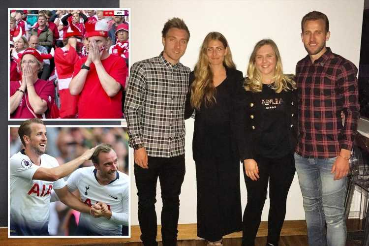 England's Harry Kane 'numb with shock' after pal and former team-mate Christian Eriksen's horror collapse