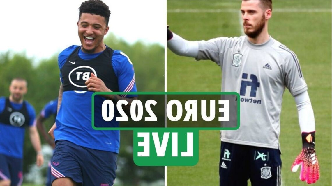 Euro 2020 LIVE: England train on as Trent ruled out, Spain vs Portugal build-up and latest from around the teams