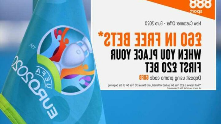 Euro 2020 free bets: Get £60 in free bets for the Euros with 888Sport