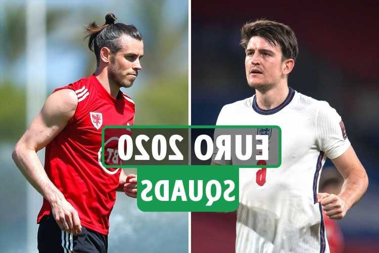 Euro 2020 squads: England, Scotland, Wales, France, Portugal and every 24 competing nations' CONFIRMED squad lists