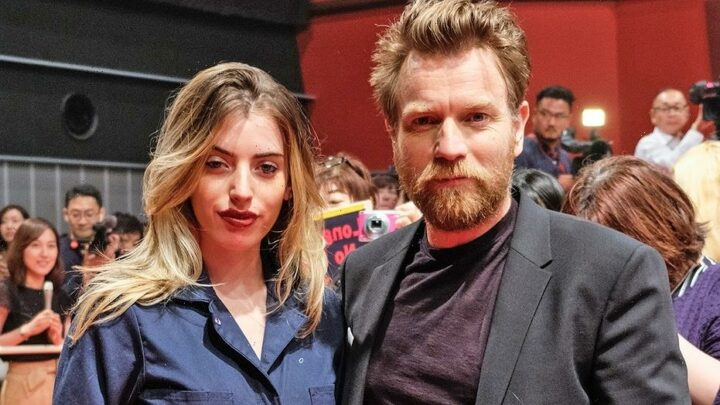 Ewan McGregor's daughter Clara reveals face wound from dog bite at red carpet film premiere