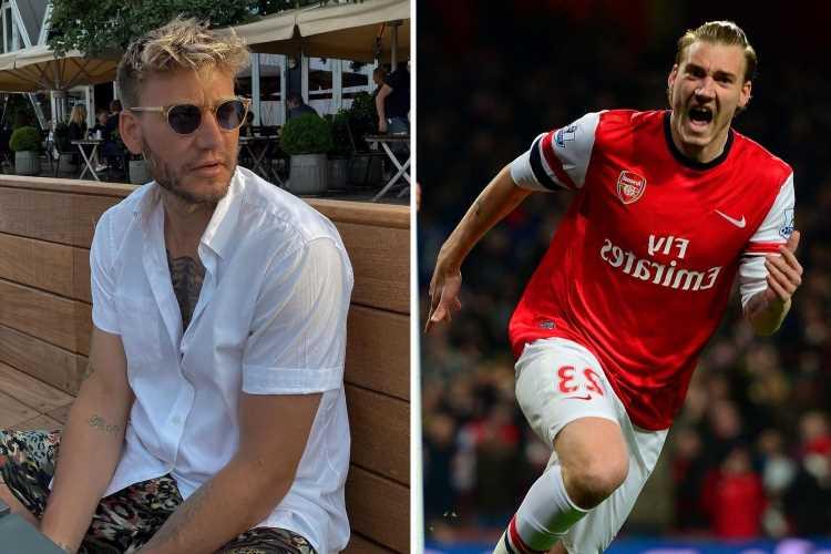 Ex-Arsenal striker Nicklas Bendtner officially retires aged 33 but confirms he is taking coaching badges