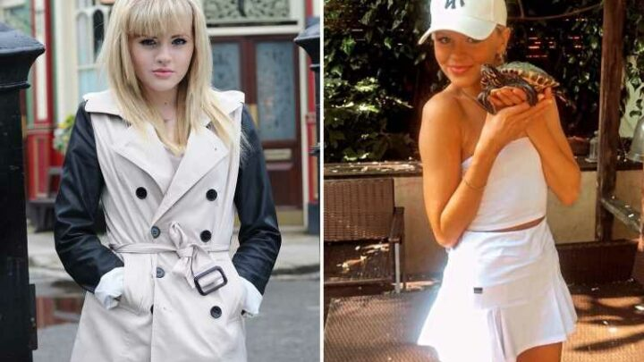 Ex-EastEnders Lucy Beale star Hetti Bywater sends fans wild in tennis outfit