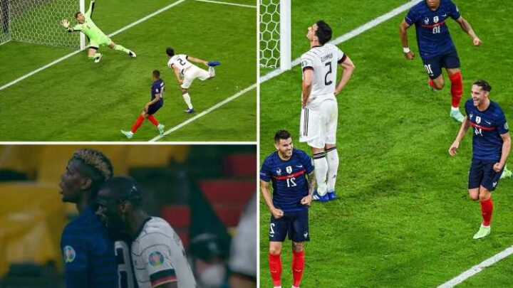 France 1 Germany 0: Hummels own goal gives French tight victory as Mbappe and Benzema have goals ruled out