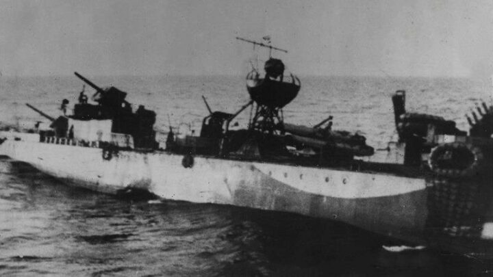 From the Archives, 1941: The sinking of the HMAS Waterhen