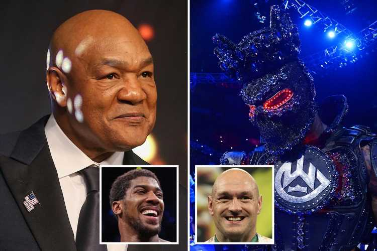 George Foreman backs Tyson Fury to beat Anthony Joshua and defends Wilder for blaming ring-walk costume for loss – The Sun