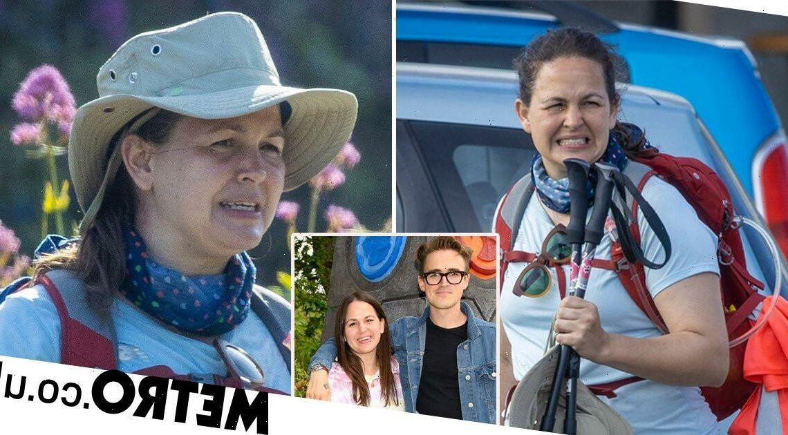 Giovanna Fletcher joins charity walk after furlough scandal