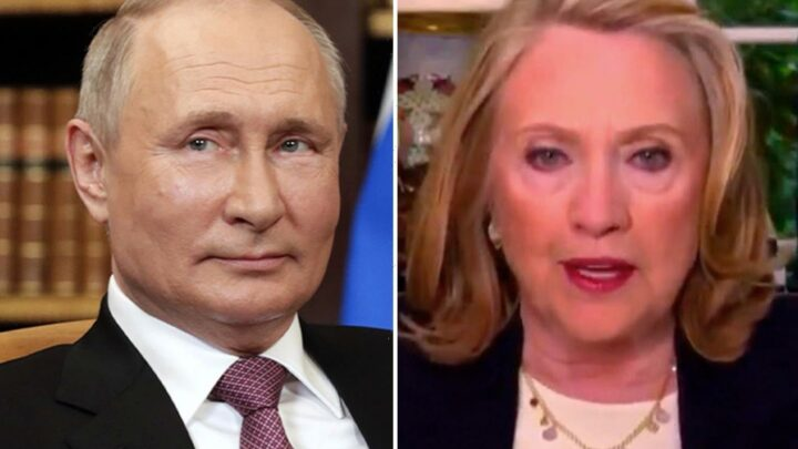 Hillary Clinton warns of 'disastrous cyber consequences' if Biden doesn't tell Putin to 'stop ridiculing the US'