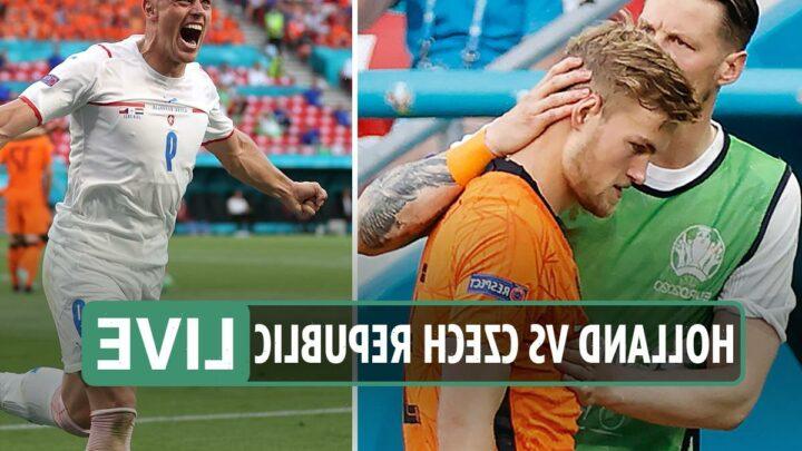 Holland 0 Czech Republic 2 LIVE REACTION: Czechs shock 10-man Dutch side to reach Euro 2020 quarter-finals – updates