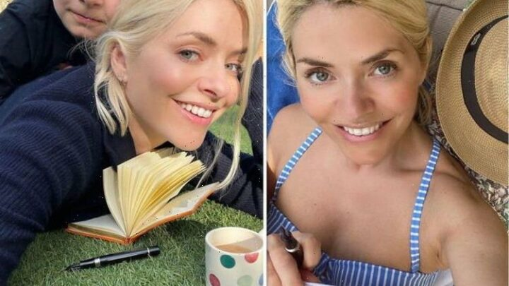 Holly Willoughby sparks frenzy in skimpy bikini as she gives update on new solo project