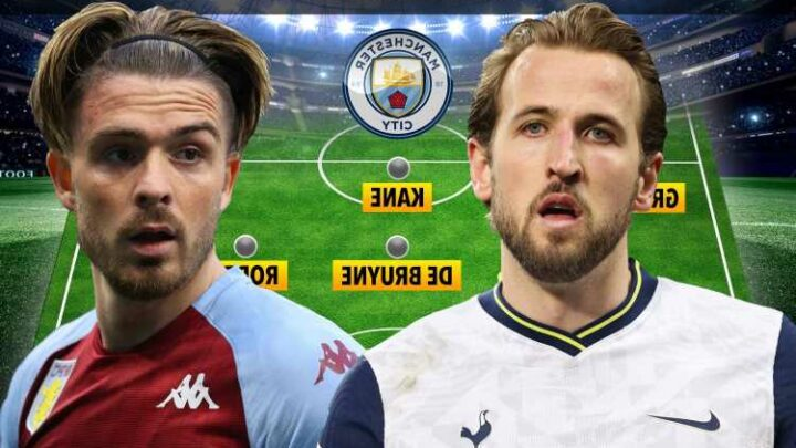 How Man City could line up with Jack Grealish and Harry Kane as they plot £200m transfer splurge on England pair