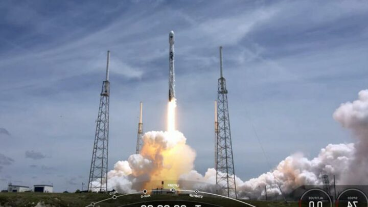 In a first, SpaceX launches national security satellite with previously flown booster