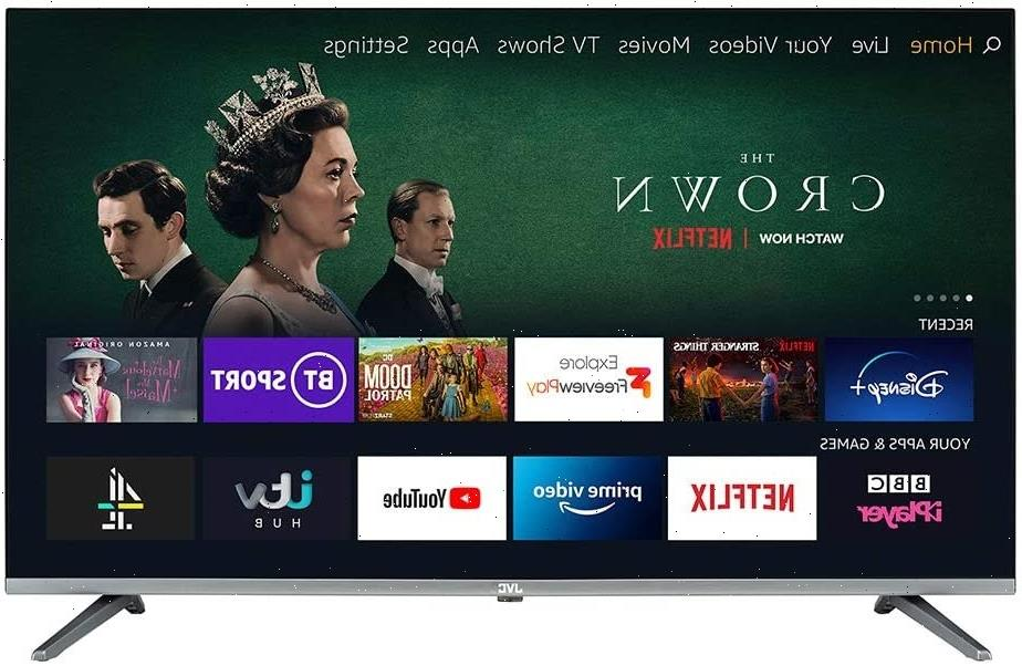 """JVC Fire Smart TV 40"""" reduced to £250 in lowest EVER price in Prime Day deals"""