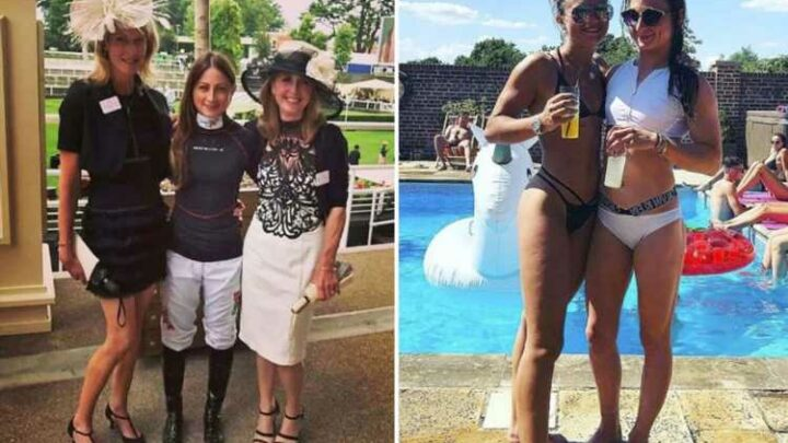 Jockey Nicola Currie reveals there are 'a lot' of days she can't eat ANYTHING as she lays bare brutal daily diet