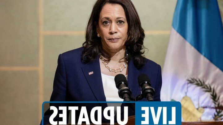 Kamala Harris speech live – 'Do not come' remark slammed before meeting Mexican President Andrés Manuel López Obrador