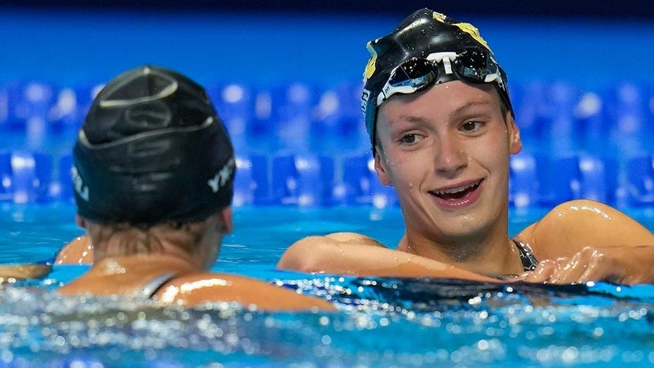 Katie Grimes, 15, swims personal best to make US Olympic team: 'Speechless'