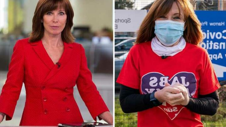 Kay Burley returns to Sky News after six-month suspension for breaking lockdown rules
