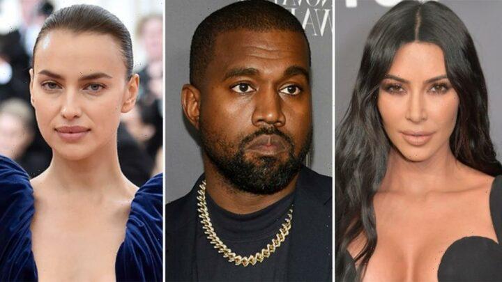 Kim Kardashian is unbothered by Kanye West's rumored romance with Irina Shayk: source