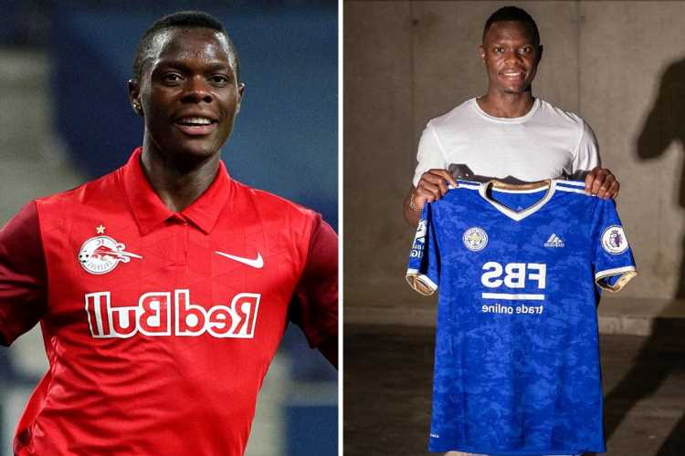 Leicester complete £23m Patson Daka transfer from RB Salzburg as Foxes beat Chelsea and Liverpool to goal machine