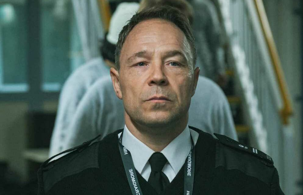 Line of Duty's Stephen Graham reveals harrowing stint with real prison guard for new drama Time