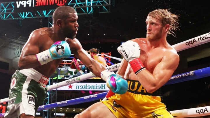 Logan Paul calls for Floyd Mayweather rematch once YouTuber is 'a little better' and says 'maybe I can end it next time'