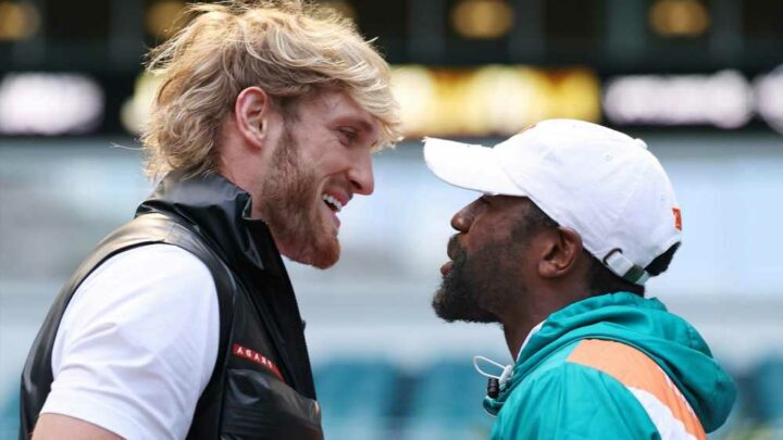Logan Paul says he 'finessed' Floyd Mayweather into fight