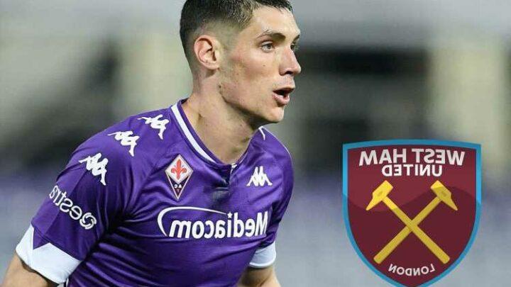 Man Utd face transfer competition from West Ham for Fiorentina defender Nikola Milenkovic